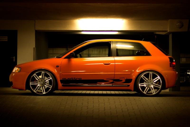 Audi S3 Orange Taurus Designs
